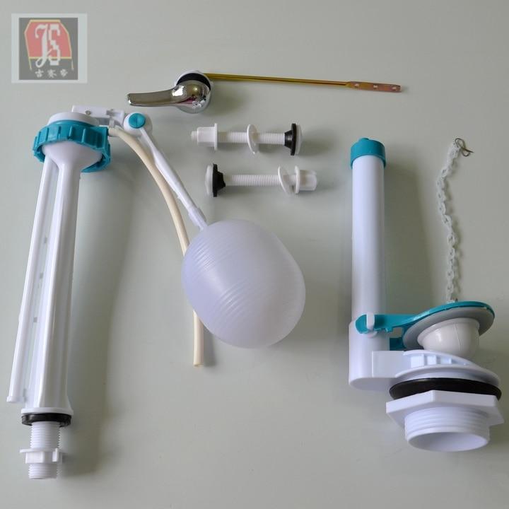 Nuevos accesorios del tanque de agua tanque cuclillas for Kit accesorios bano