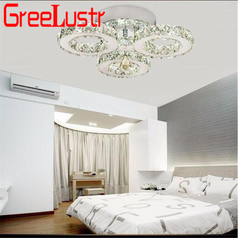 Modern Crystal Rings Ceiling Chandelier Lights Silver Crystal Led Plafonnier for Bedroom Kitchen Ceiling Lamp Lustre Modern Crystal Rings Ceiling Chandelier Lights Silver Crystal Led Plafonnier for Bedroom Kitchen Ceiling Lamp Lustre