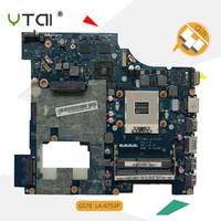 YTAI LA 6753P G570 for Lenovo G570 laptop motherboard HD6300M PIWG2 LA 6753P REV:1.0 2 DDR3 slots HM65 mainboard fully tested