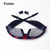 Fuster Bluetooth Wireless Earphone Stereo Music Phone Call Hands Free With Sunglasses Headset For IPhone Samsung