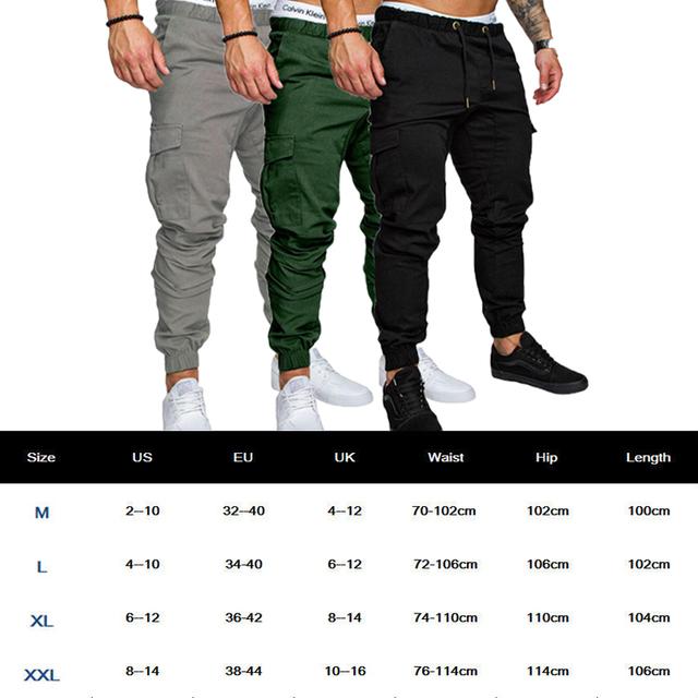 Hombre Sweatpants Casual Pants Hot Straight Ankle-Length Pants Leg Jeans