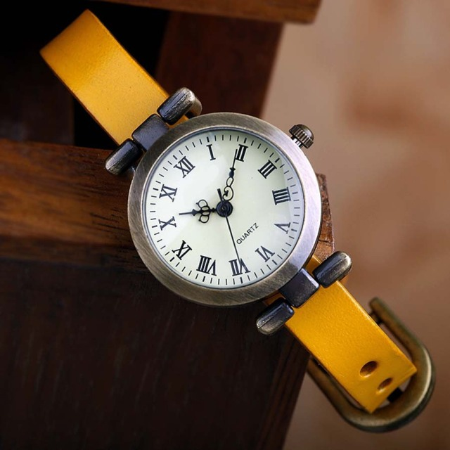 Aether Leather Vintage Wrist Watch