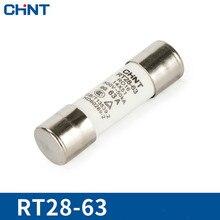 цена на CHINT Cylinder Form Fuse RT28-63(RT18-63) Core 14*51mm Fuse Insurance Tube