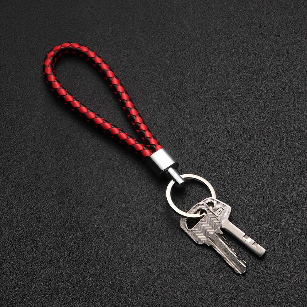 1 PC Couro Keyfob Cadeia Anel Chave Do Carro Chaveiro Presente da Forma Do Coração Chaveiro Pingente Jóia Do Falso Pele De Coelho Pompom Fofo para As Mulheres