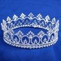 Crystal Clear Peacock coroas, Estilo noiva Rhinestone Crown nupcial Tiara cabelo casamento jóias cabelo acessórios HG072