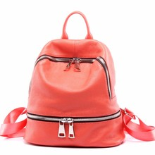 DANJUE High Quality Women Backpack Vintage Genuine Leather Brand Ladies Backpack Bag Fashion Travel Bag For Girls School Bag