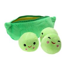 Cute Pods Pea Shape Plant Doll