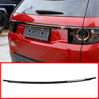 Newest For Land Rover Discovery Sport 2015 2018 Car Sticker Accessories ABS Chrome Rear Trunk Tailgate Tail Door Lid Strips Trim
