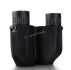 Image 5 - Free shipping high times 10X25 HD All optical green film waterproof binoculars telescope for tourism binoculars hot selling