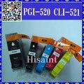 1 Компл. Для Canon 520 521 PGI520 CLI521 Картридж Для PIXMA MP640 560/IP4700/3600/MX870 860 Струйный Принтер Реального