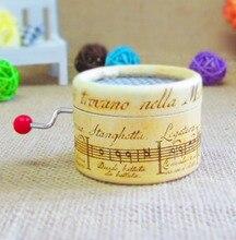 Paper hand crank music box 18 Notes music box movement DIY box music Fur Elise as birthday, wedding