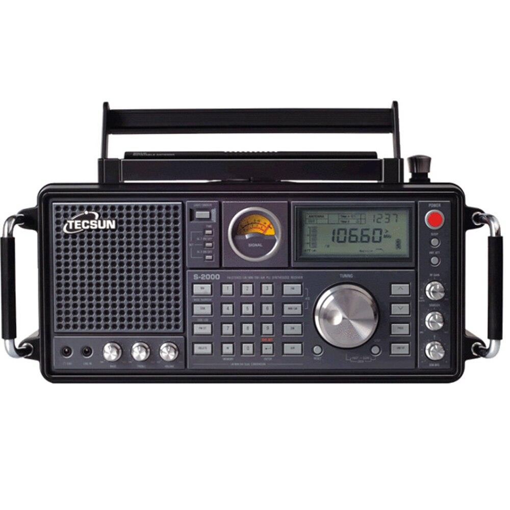 TECSUN S-2000 PRESUNTO Amador SSB PLL Dupla Conversão Rádio FM/MW/SW/LW Banda Ar
