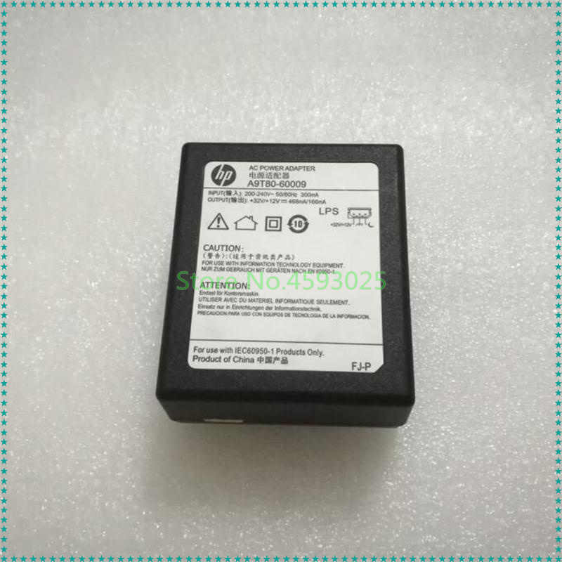 32V 468mA 12V 166mA AC/DC Power Adapter Charger A9T8060009 For HP  A9T80-60009 Printer Power Supply