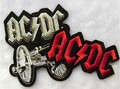free shipping 12 pcs/lot Hard ACDC punk rock band  buiter artillery badge  armbands DIY clothes  Embroidered patch