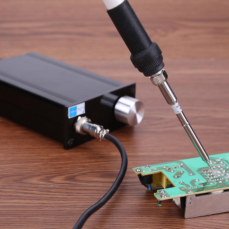 Electric Soldering Iron LED Digital Solder Iron desoldering station BGA Rework Solder Station Hot Air Gun+ Electric iron set electric iron ladomir 64k