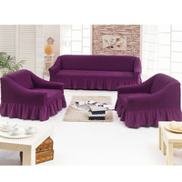 Set of covers for three seater sofa (1pc) and armchairs (2 pcs)