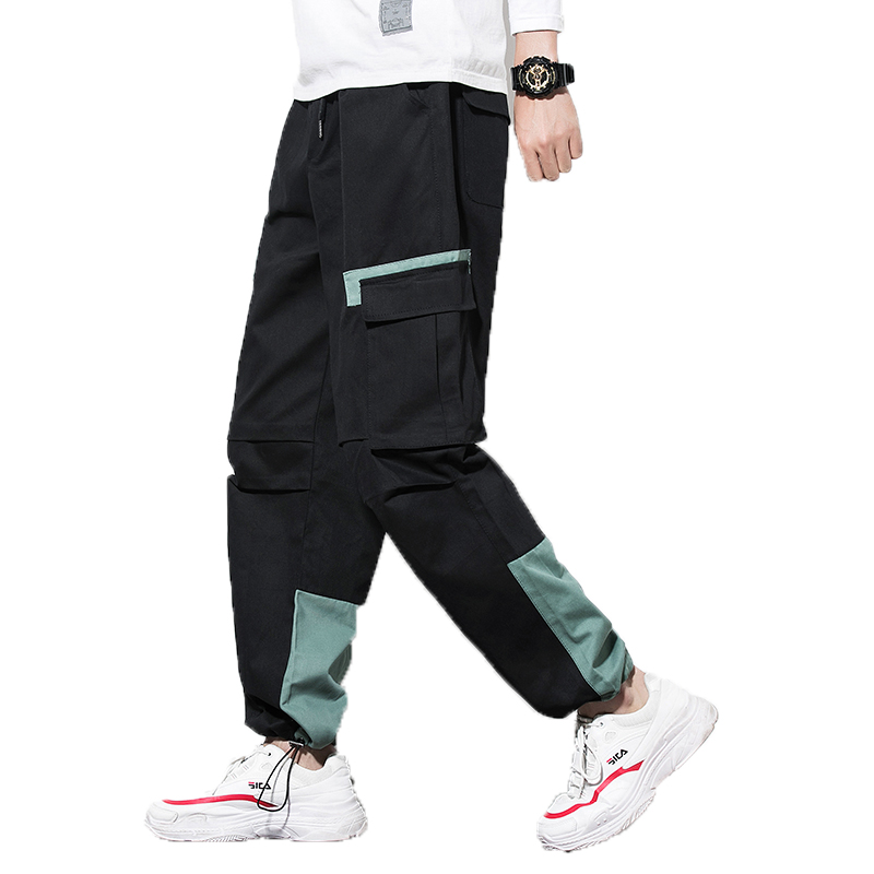 Men's Cargo Pants 2018 Men Camo Hip Hop Pants Man Women Streetwear Joggers Sweatpants Male Patchwork Toursers 4XL 5XL Sweatpants