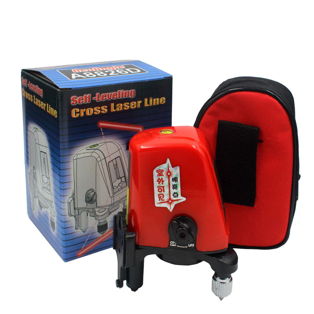 ACUANGLE A8826D 360 Degree Self leveling Laser Level for Horizontal And Vertical Cross Section 14