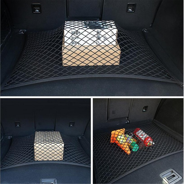 Organizador de almacenamiento de red de carga para maletero Universal de coche de 4 ganchos 60*80 cm para Lexus RX NX GS CT200H GS300 RX350 RX300