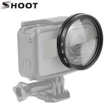 مجموعة ملحقات كاميرا تصوير 52 مللي متر لكاميرا GoPro Hero 7 6 5 أسود مناسبة لكاميرا Go Pro Hero 7 6 5