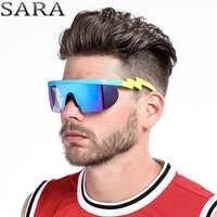 2018 nouvelle marque SARA lunettes De soleil hommes femmes mode assez heureux avec des lunettes De soleil HD lunettes unisexe Gafas Oculos De Sol