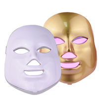 Beauty Star LED Facial Mask 7 Color Photon Electric LED Mask Anti Wrinkle Acne Removal Face