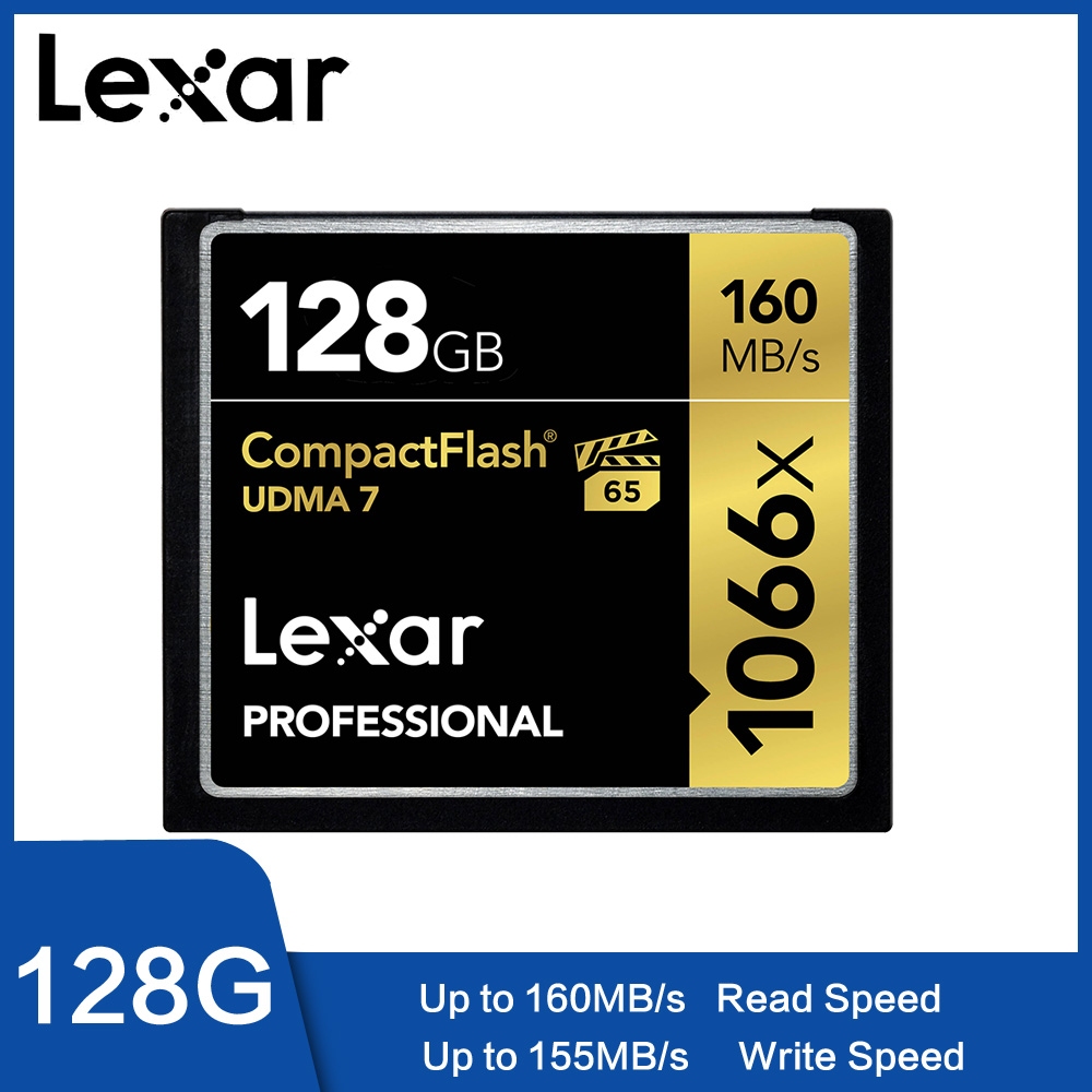 Lexar UDMA 7 CF Card 1066x 16GB 32GB Up to 160MB s VPG 65 64GB 128GB