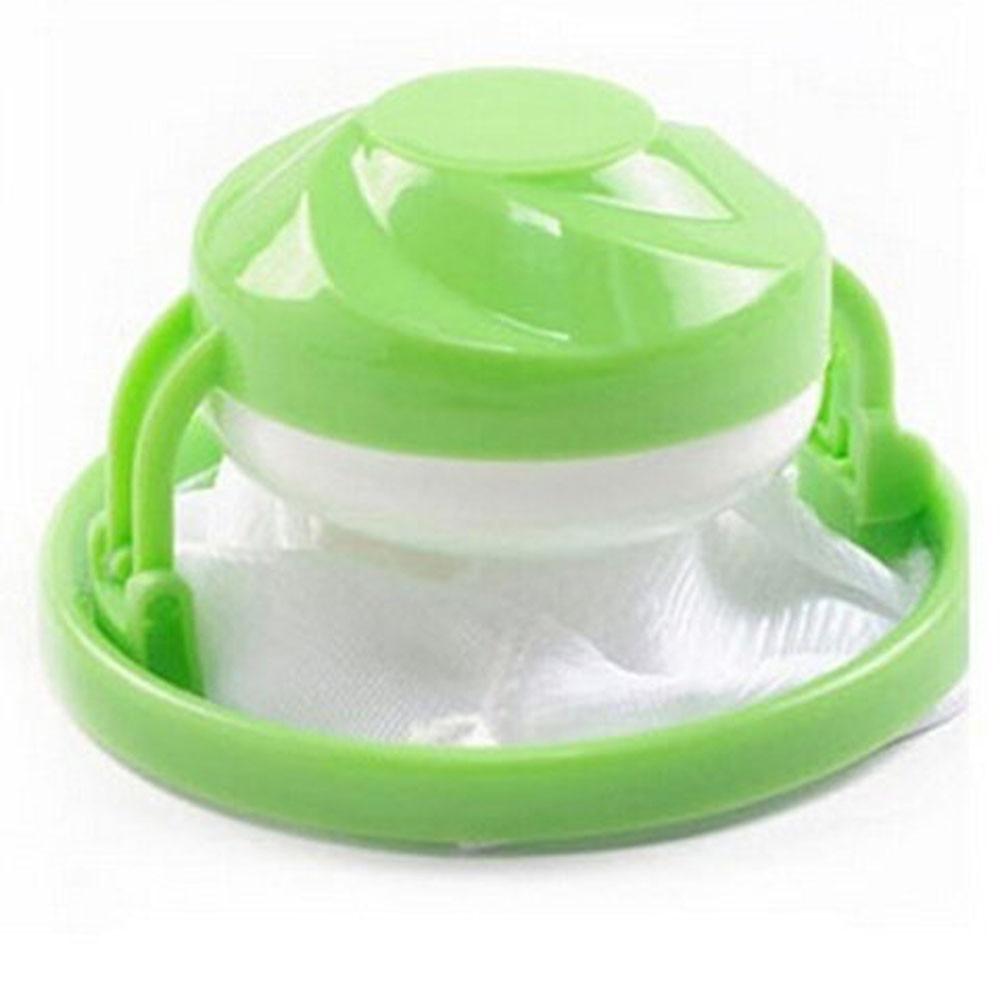 Домашнее плавающее удаление волос Catcher сетчатый мешок для стиральной машины, прачечной фильтр мешок стильные трусы haren vanger васмашина haarvanger - Цвет: Green