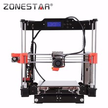 2017 Newest The 9th Generation P802 Auto Leveling Reprap Prusa i3 3D Printer DIY Kit Gift 2 Rolls Filament SD Card Free Shipping