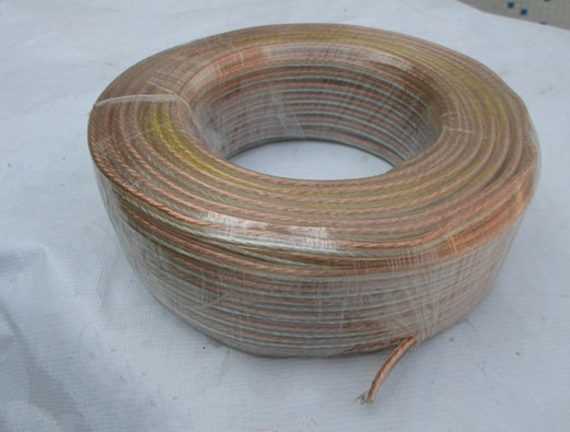 Fast Free Ship 10m/lot  2*1.0mm Loudspeaker Cable Audio Cable Horn Wire High Fax Fever Line Speaker Wire Acoustics Wire