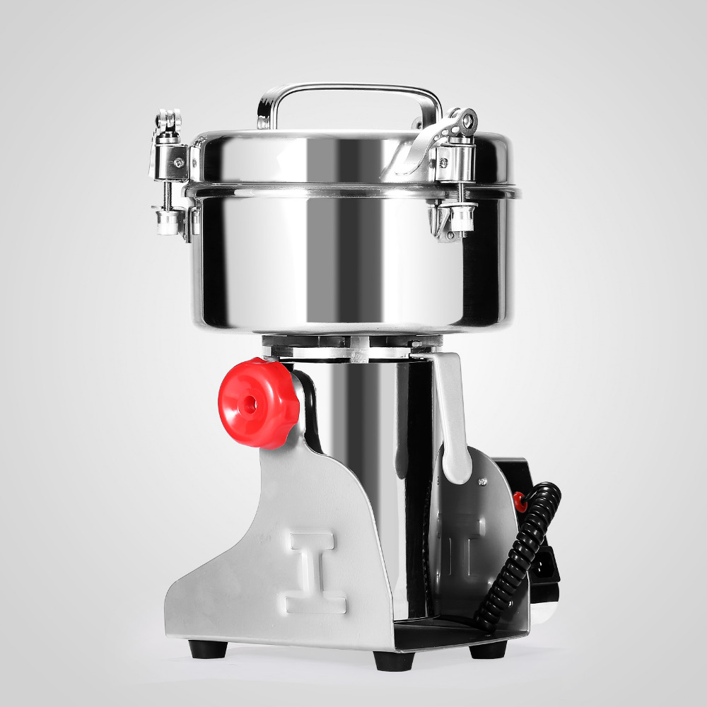 1000g Electric Grain Grinder High Speed Swing Grain Grinder Machine 2800W Powder Machine For Grinding Various Grains Spice