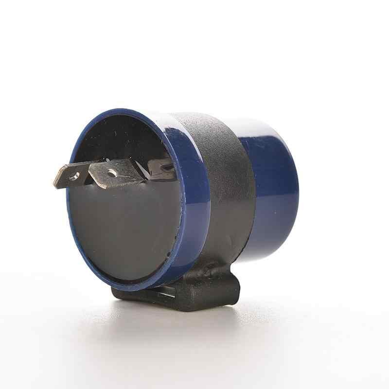 Clignotant bleu intégré pour moto, clignotant LED, indicateur de relais, 1 pièce, entrée 6V 12V DC