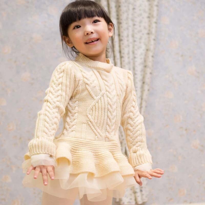 7636b1cba 2016 New Baby Girls Pullovers Christmas sweater Dress Costume ...
