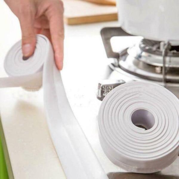 Professional Self-Adhesive Caulk Strip Waterproof For Kitchen Bathroom Corner FP8