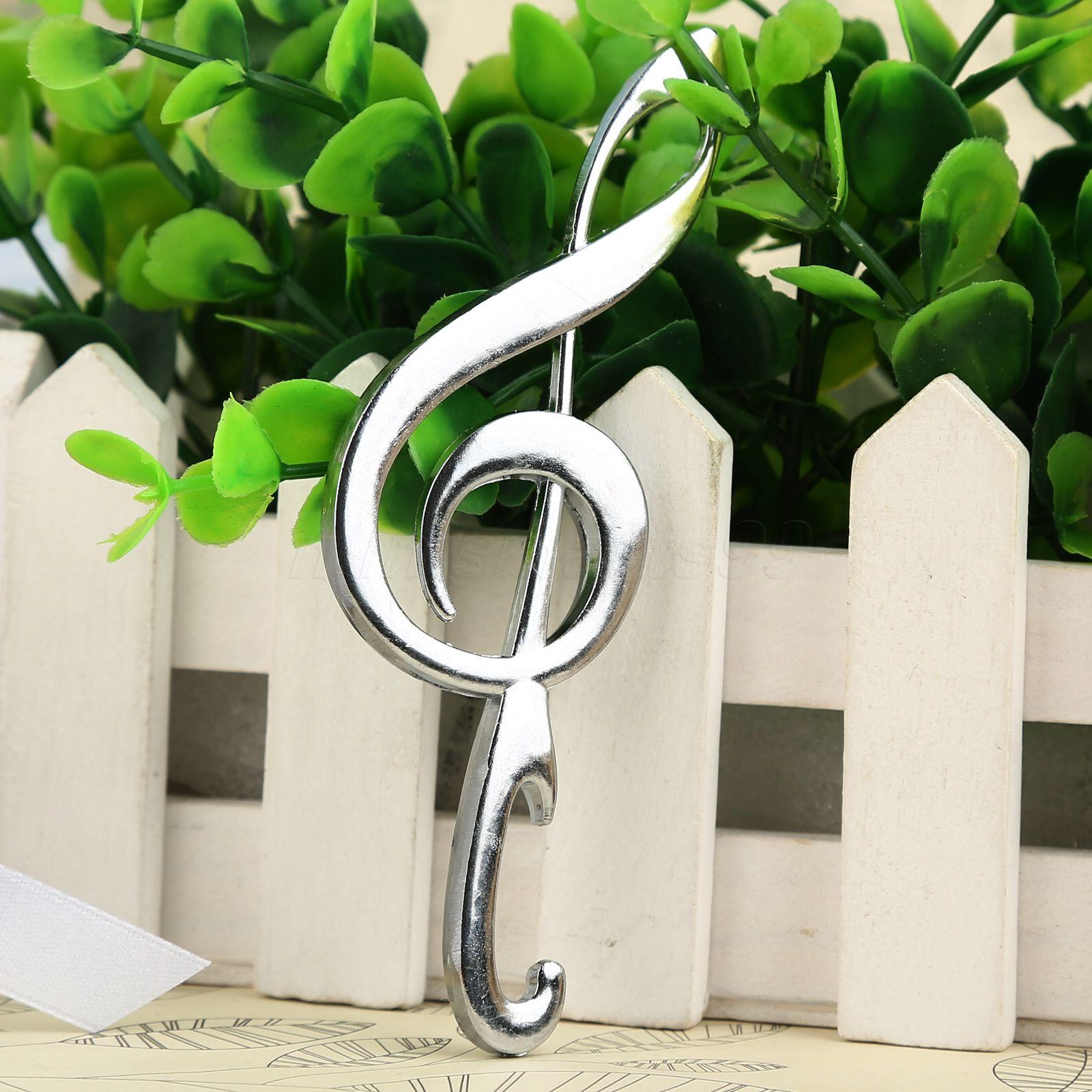 Creative Music Symbol Design Beer Bottle Opener Bridal Shower Wedding Party Birthday Favour Lovely Gift Kitchen Bar Tools