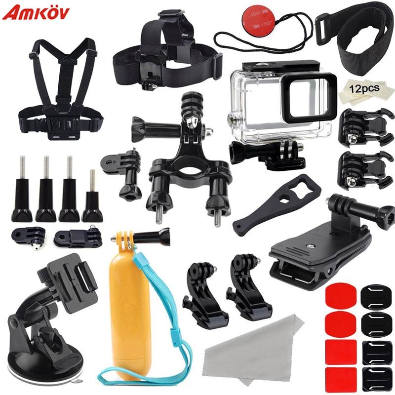 Amkov för Xiaomi Yi 4K Tillbehörssatser GoPro Hero 4 3 Bröstfälla - Kamera och foto