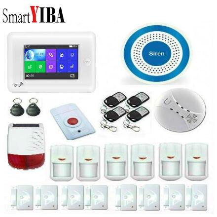 SmartYIBA 3G WiFi Drahtlose Smart Alarm System Sicherheit Home mit Video IP Kamera Anti Diebstahl System mit PIR sensor APP Control - 4