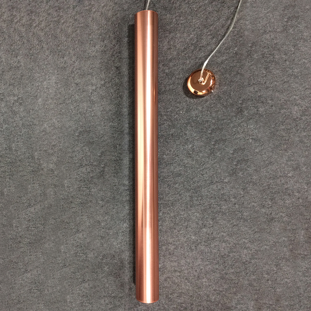 Led Pendant Light Rose Gold Cover Think Pipe 8cm Ideal Installation Indoor Perfect Quality With