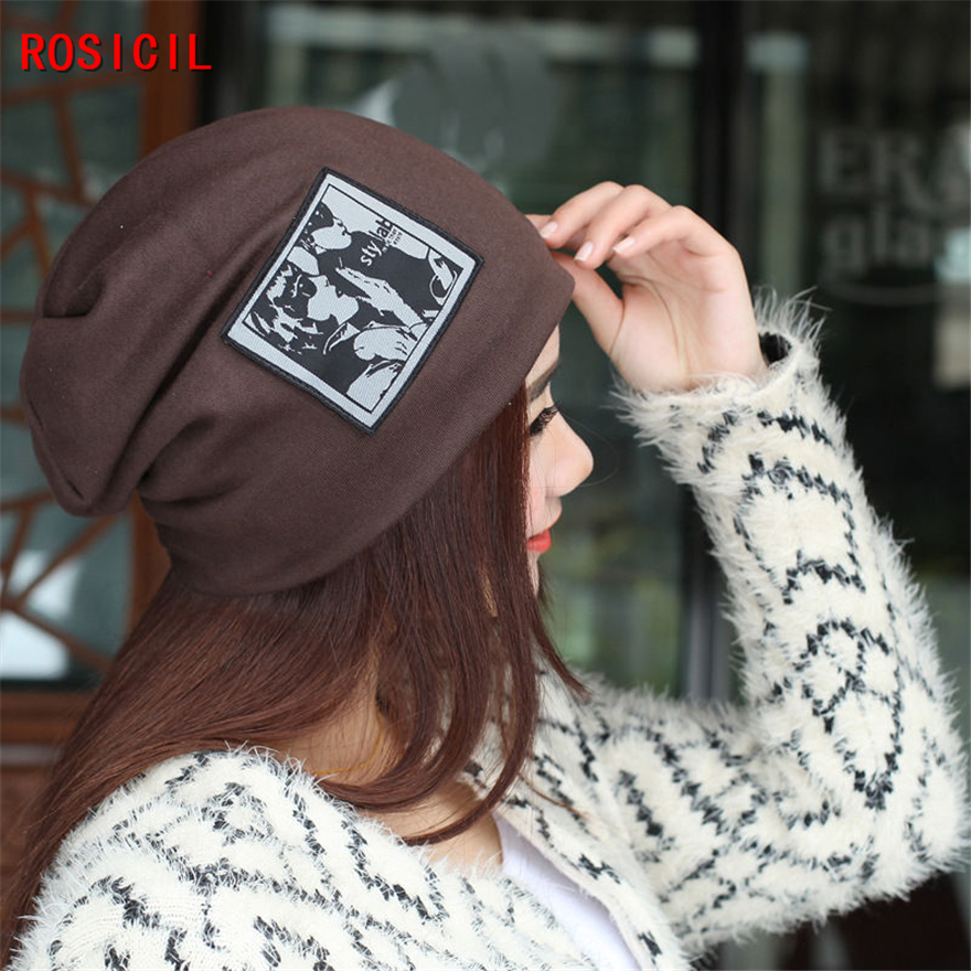 ROSICIL Beanies for Men Women Winter Knitted Hat Elegant Ladies Hats Hip-hop Skullies Bonnet Cap Gorro, gorros invierno carhart rosicil skullies beanies winter hats for women letter beanies women hip hot caps skullies girls gorros women beanies female
