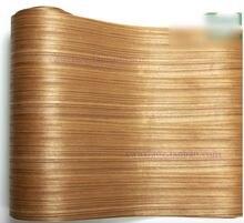 2 шт/лот l: 25 метра ширина: 60 см древесный шпон из сапели