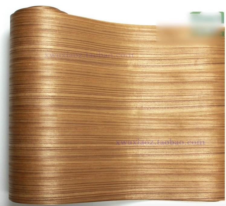 2Pieces Lot L 2 5Meters Width 60CM Sapele Wood Veneer Thailand Teak Wood Veneer back kraft paper in Furniture Accessories from Furniture