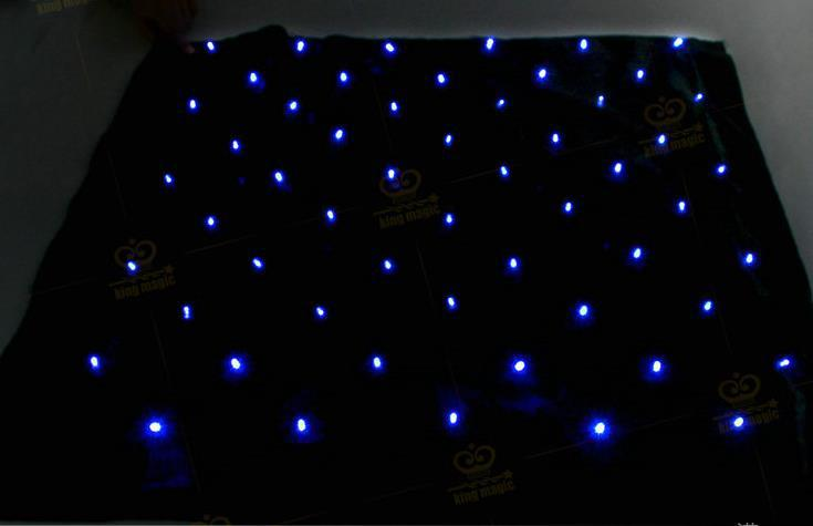 Livraison gratuite! Blendo sac avec lumières bleues-tours de magie, magie de scène, comédie, accessoires de magie