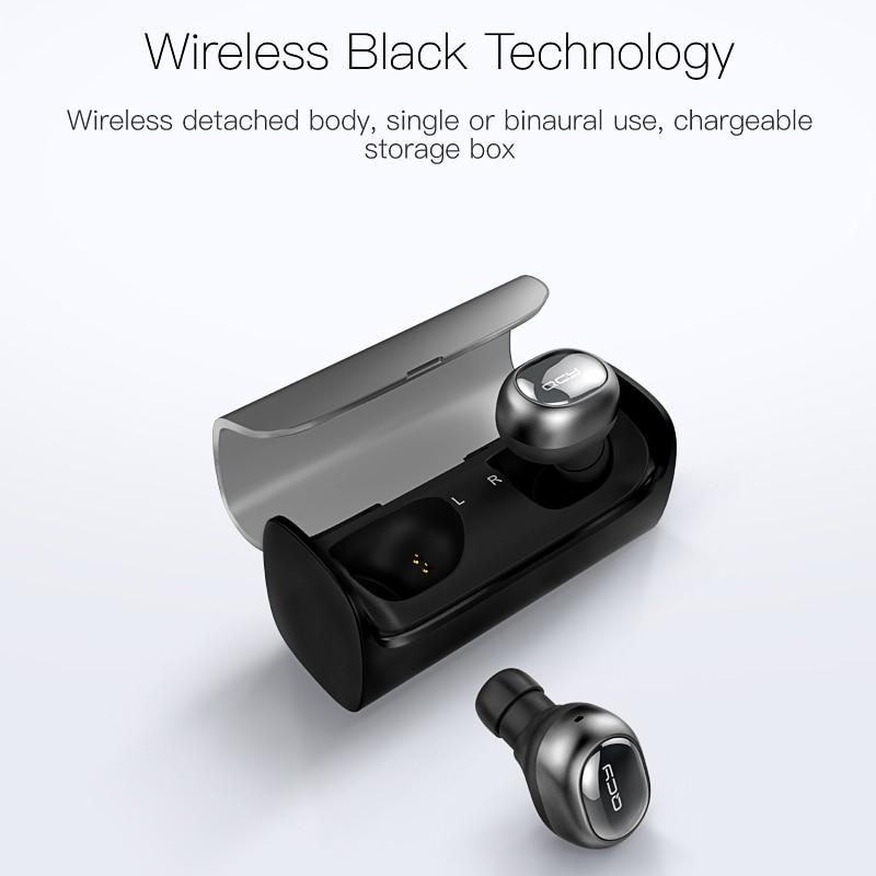 QCY Q29 TWS business Bluetooth-hörlurar trådlösa - Bärbar ljud och video - Foto 2