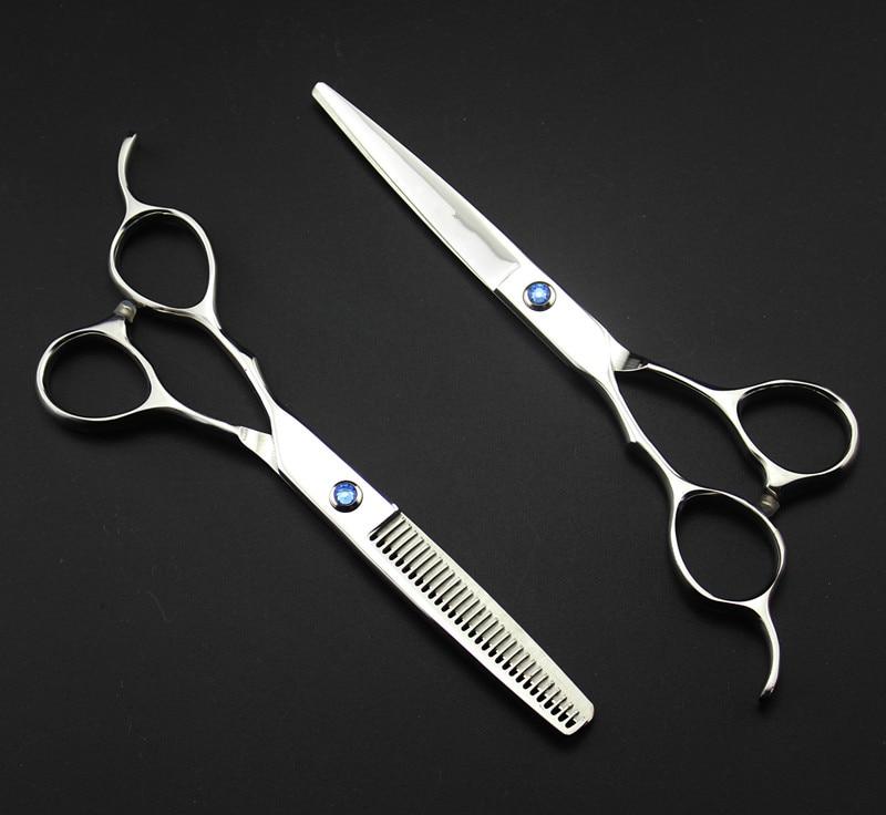 Personnalisé 440c 6 5,5 pouces main gauche coupe coiffeur - Soin des cheveux et coiffage - Photo 3