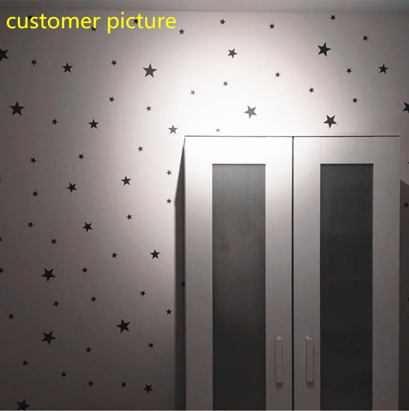 ملصقات باشكال النجوم 150 قطعة باحجام مختلفة 5