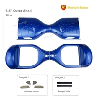 11 Blue 6 5 New Electric Self Balancing Scooter Plastic Outer Shell Replacement Cover Case