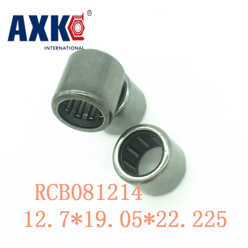 Axk Rcb081214 Inch Size One Way Drawn Cup Needle Bearing 12.7*19.05*22.225 Mm ( 2 Pcs ) Cam Clutches Rcb 081214 Back Stops