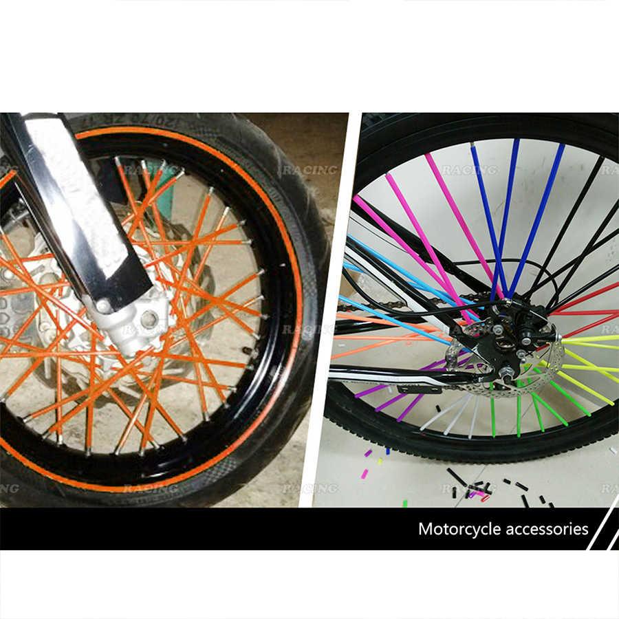 72Pcs Wheel Spoke Skins Kit 18