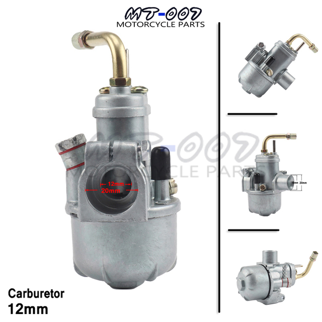 US $26 07 34% OFF|12mm Carburetor Puch for Moped Bing Style Carb Stock Maxi  Sport Luxe Newport Cobra Carburettor -in Carburetor from Automobiles &