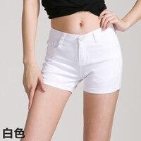 Women 18 Candy Colors Shorts Summer 2015 Feminino Slim Pantalones Cortos Mujer Sexy Shorts Plus Size